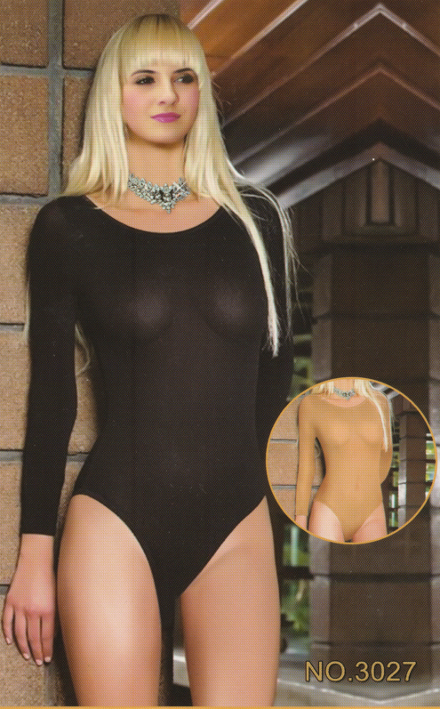 Body Stocking Long Sleeves