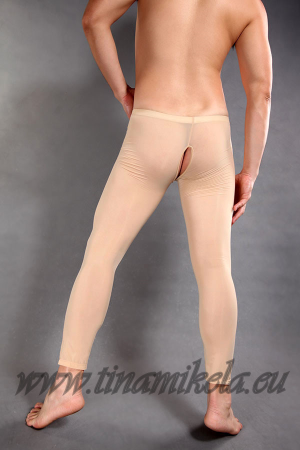 Trunk Leggings With Back Opening
