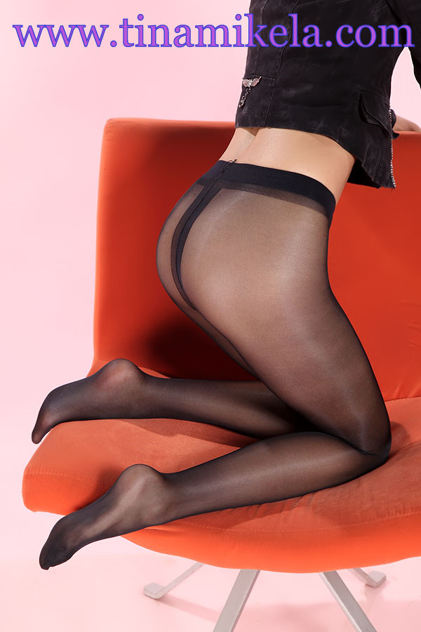 Sheer To Waist Shiny Pantyhose - 3