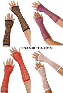 Fishnet Armwarmers
