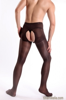 Open Crotch & Back Pantyhose