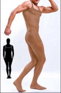 ComfiLon's Men's  Sheer Body Stockings