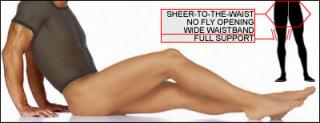 ComfiLon's Sheer to Waist Support Pantyhose