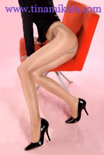 Sheer To Waist Shiny Pantyhose