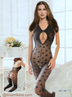 Bodystocking Polka Dots